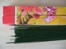 Проволока флористическая длина 40см. диаметр 0,6мм - Проволока флористическая длиной 40 см. диаметр 0,6 мм пр-во Польша, покрашена в зеленый цвет, в кор. 1 кг. Используется для создания основы будующего бутона , а так же как основной стебель цветка и каркас для листьев.
